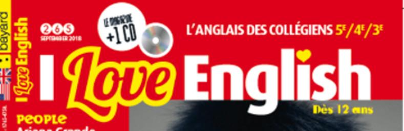 I love English / [directeur de publication, Alain Cordier] [directeur de publication, Bruno Frappat]  |