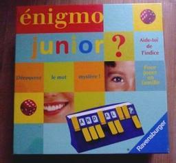 Enigmo junior ? / Haim Shafir | Shafir, Haim. Auteur
