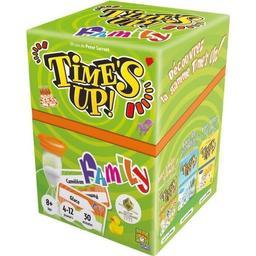 Times up family : Des mots, du mime, du rire ! / Peter Sarrett | Sarrett, Peter. Auteur