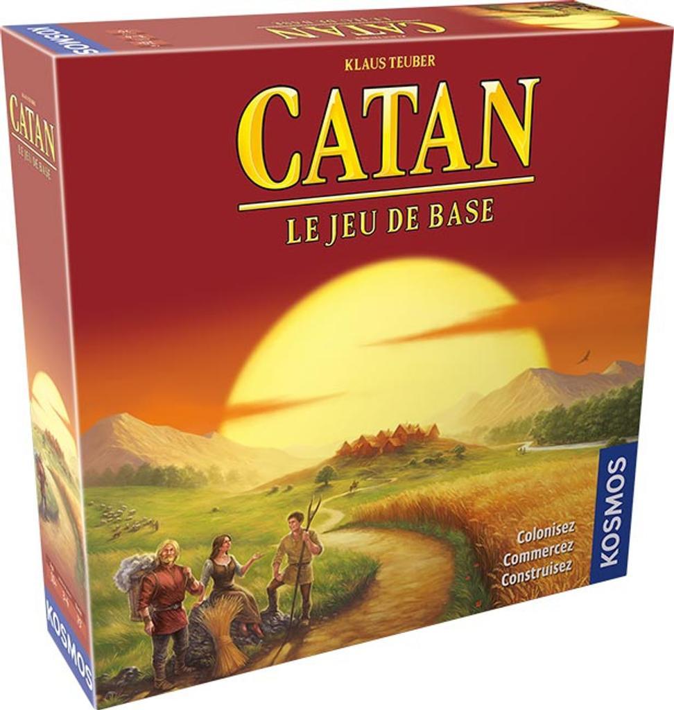Catan : Le jeu de base / Klaus Teuber | Teuber, Klaus. Auteur