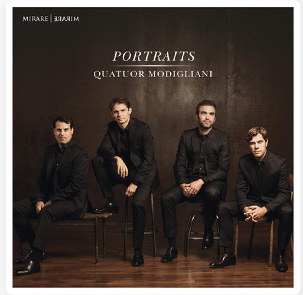 Portraits / Quatuor Modigliani | Mendelssohn, Félix (1809-1847),