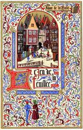 Le jeu de la feuillée / Adam de la Halle | Adam de La Halle (124.-1288?). Auteur