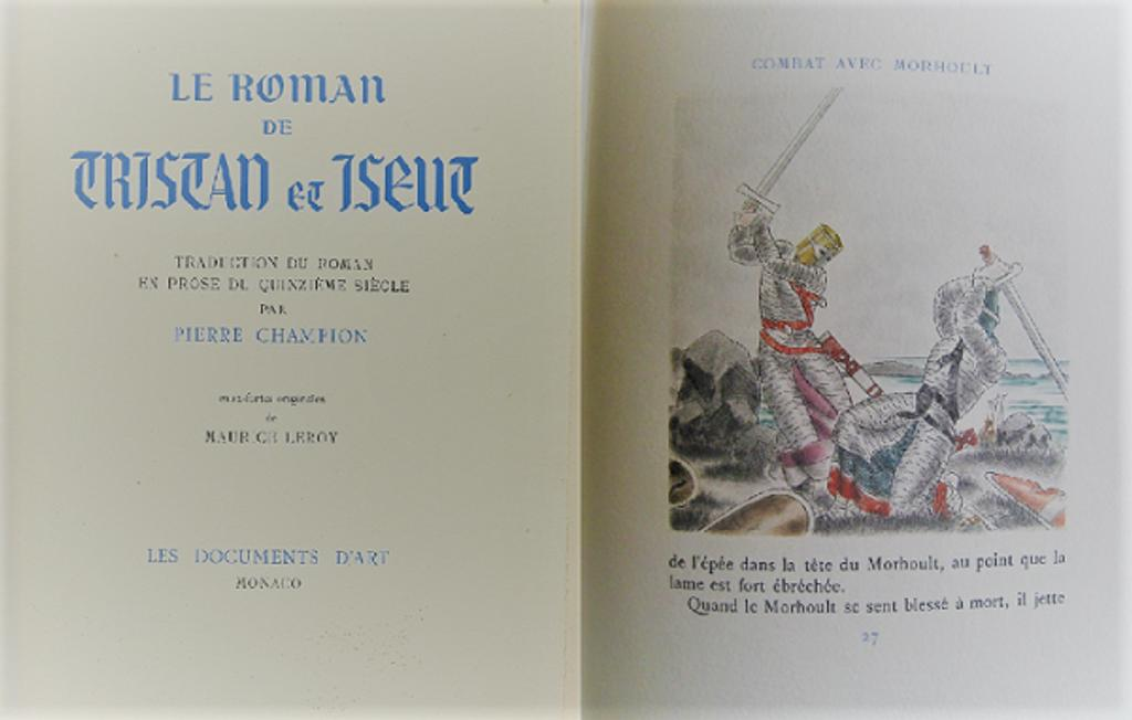 Le roman de Tristan et Iseut / Traduction du roman en prose du quinzième siècle par Pierre Champion | Champion, Pierre (1880-1942). Traducteur