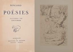 Poésies / Ronsard   Ronsard, Pierre de (1524-1585). Auteur