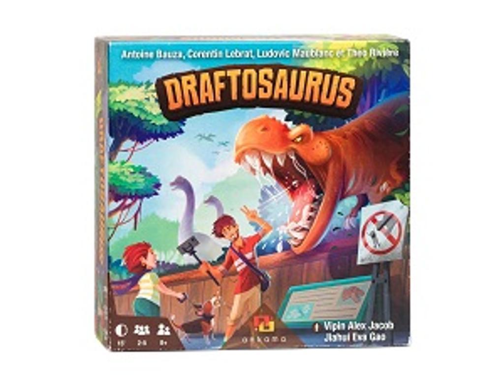 Draftosaurus / Antoine Bauza, Corentin Lebrat, Ludovic Maublanc, Théo Rivière,  | Maublanc, Ludovic. Auteur