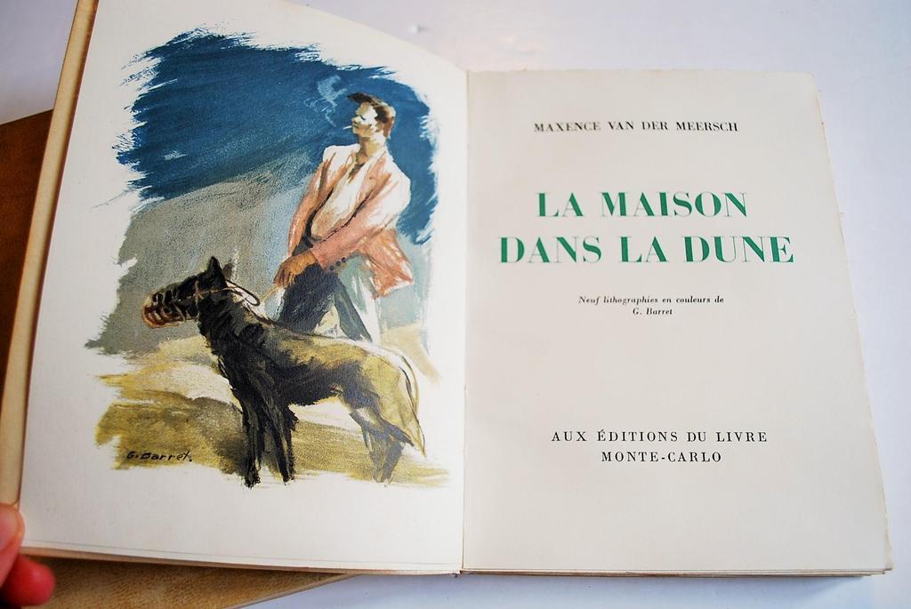 La maison dans la dune / Maxence Van Der Meersch | Van der Meersch, Maxence (1907-1951). Auteur