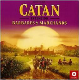 Catan : Extension Barbares et marchands | Teuber, Klaus. Auteur