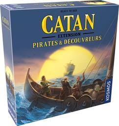 Catan : Extension Pirates et découvreurs / Klaus Teuber, Benjamin Teuber | Teuber, Klaus. Auteur