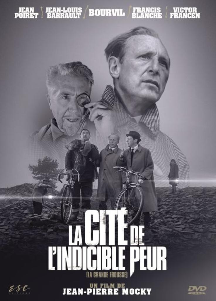 La cité de l'indicible peur : La grande frousse / Jean-Pierre Mocky, réal. | Mocky, Jean-Pierre (1933-....). Metteur en scène ou réalisateur