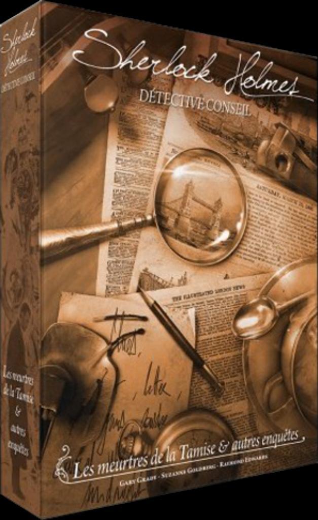 Sherlock Holmes Détective Conseil : Les Meurtres de la tamise et autres enquêtes / Gary Grady, Suzanne Goldberg  