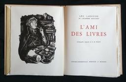 L'ami des livres / Léo Larguier   Larguier, Léo (1878-1950). Auteur