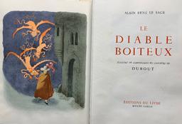 Le diable boiteux / Alain René Le Sage   Lesage, Alain-René (1668-1747). Auteur