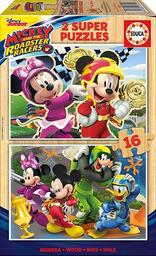 2 super puzzles Mickey and the roadster racers |