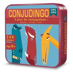 Conjudingo CM1 CM2 : 3 jeu de conjugaison : bataille, mistigri, rami / Claire Lagoda-Patingre |