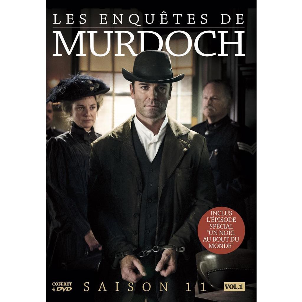 Les enquêtes de Murdoch saison 11, vol.1 / Alexandra Zarowny, Maureen Jennings, Cal Coons, créateurs |