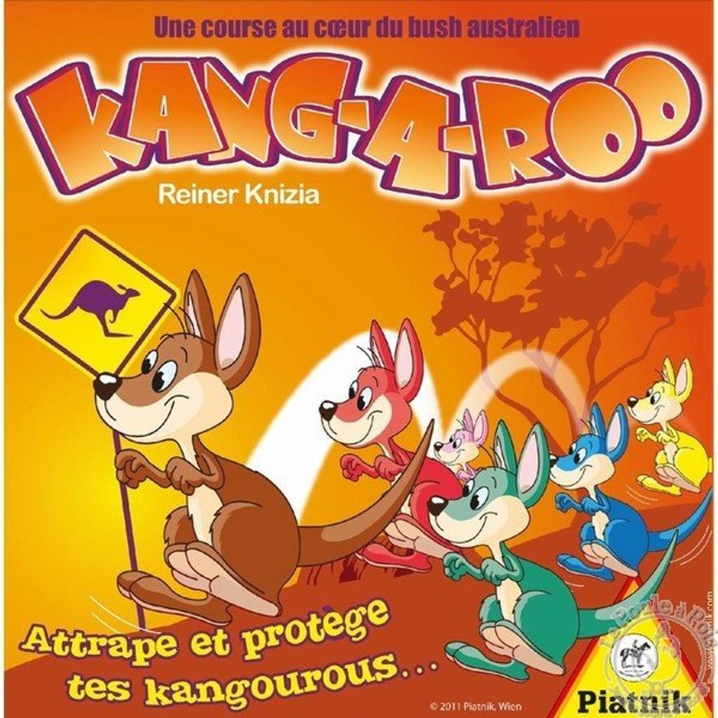 Kang-a-roo : Attrape et protège tes kangourous ... / Reiner Knizia |