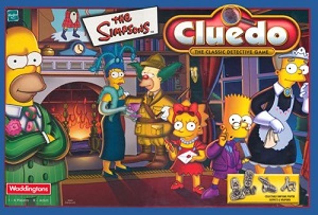 Cluedo the simpsons |
