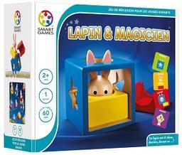 Lapin et magicien = La lapin est-il : dans, derrière, devant ou ...? / Raf Peeters | Peeters, Raf. Auteur