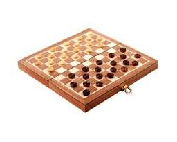 Coffret jeu de dames = Checkers set |