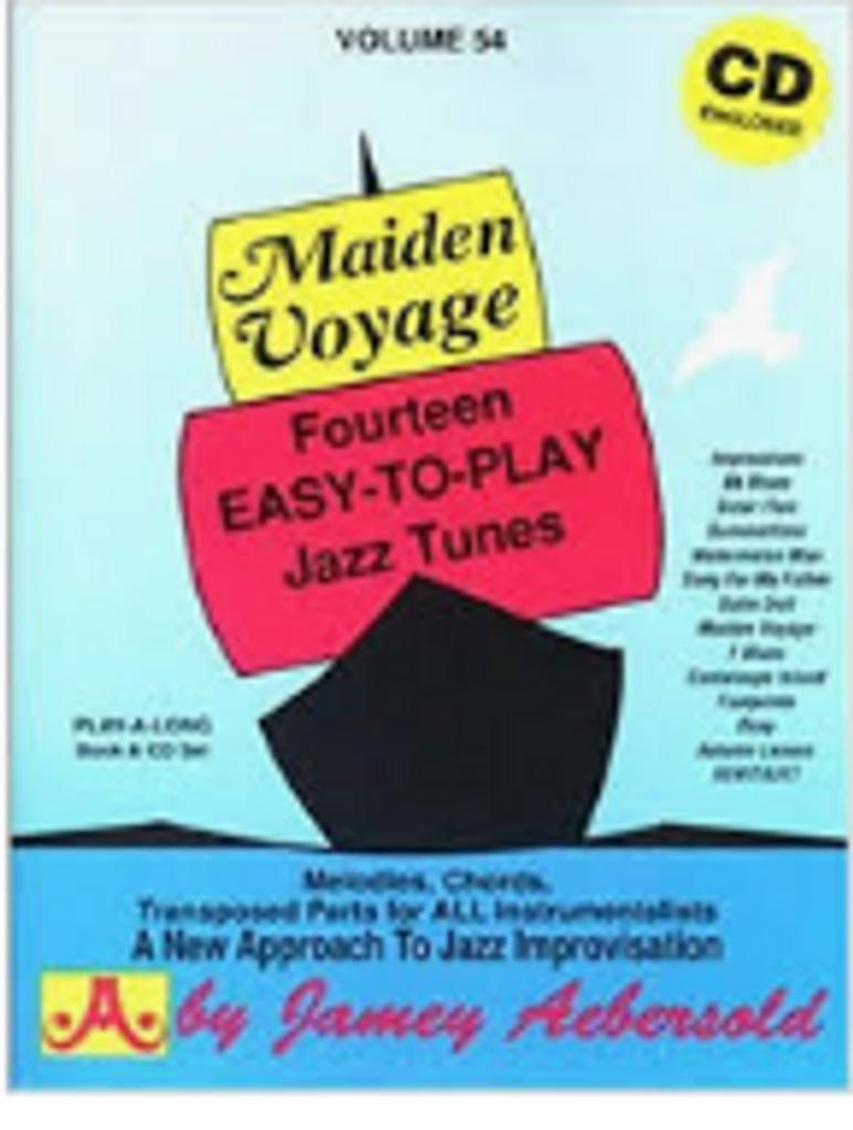 Maiden voyage : fourteen easy-to-play jazz tunes |