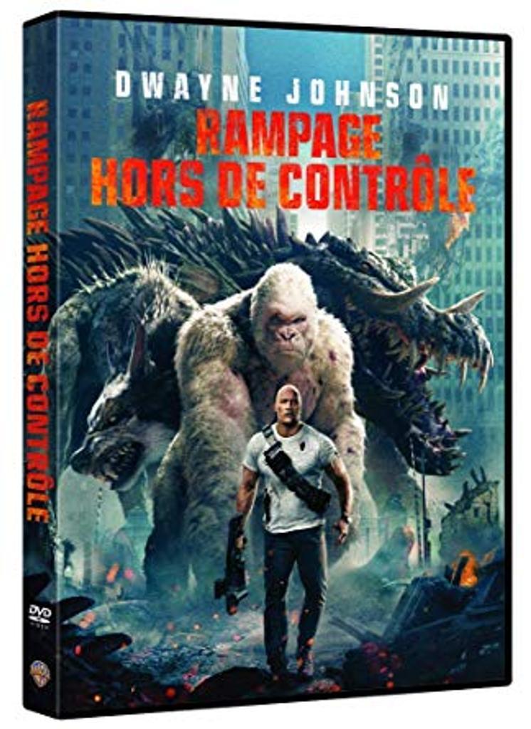 Rampage : hors de contrôle / Brad Peyton, réal. |