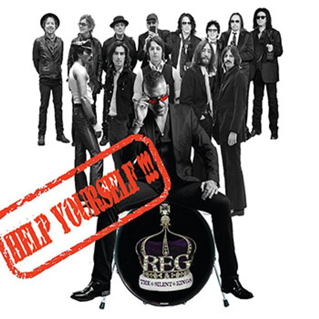 Help yourself !!! / Reg & the Silent Kings |