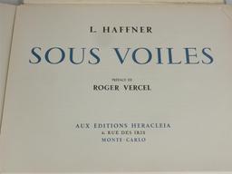 Sous voiles / L. Haffner | Haffner, Léon (1881-1972). Graveur
