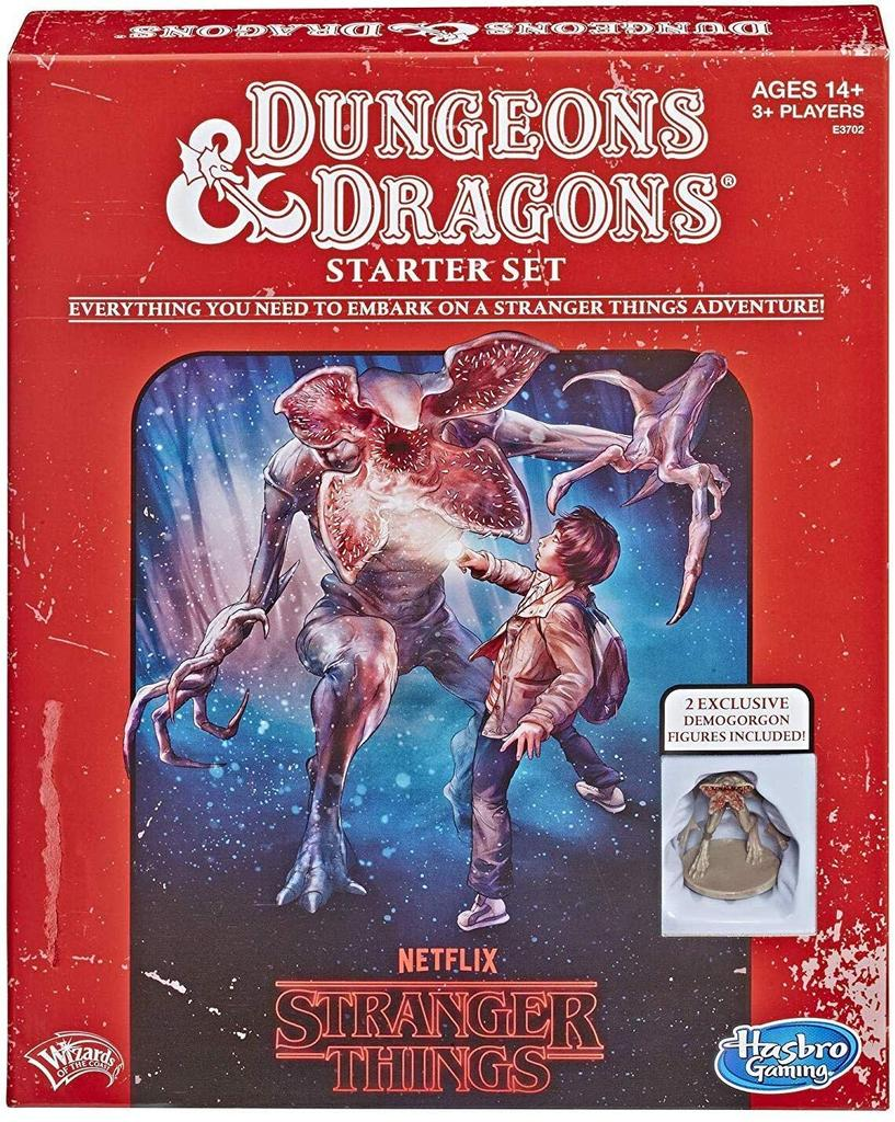Dungeons & Dragons = Everything you need to embark on a stranger things adventure ! |
