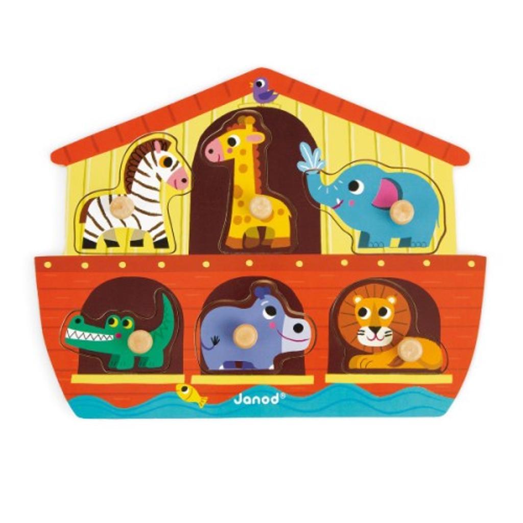 Puzzle encastrement arche de Noé |
