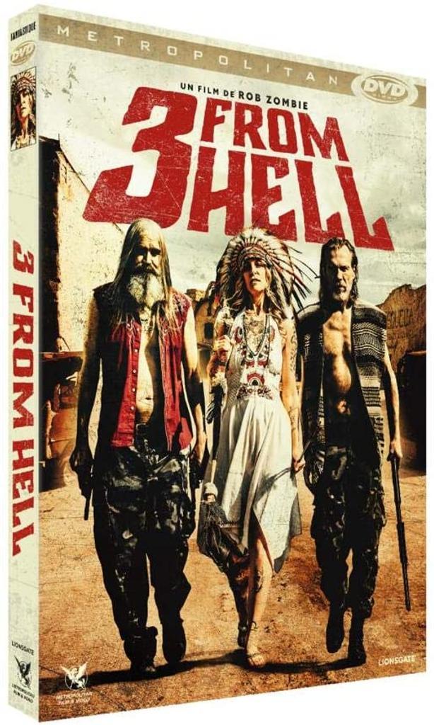 3 from hell / Rob Zombie, réal. | Zombie, Rob (1966-....). Metteur en scène ou réalisateur