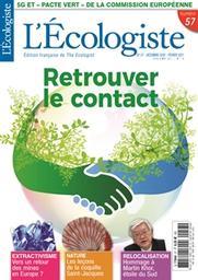 L' Ecologiste : édition française de The Ecologist. 57, Décembre 2020-Février 2021  