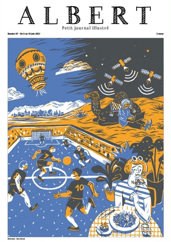 Albert : Petit journal illustré. 97, Samedi 5 Juin 2021 |