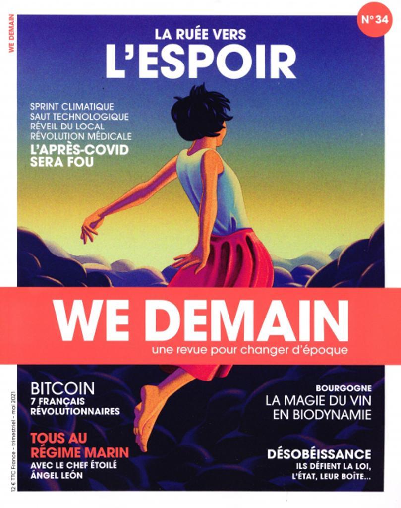We Demain : une revue pour changer d'époque. N°34, Mai 2021 |