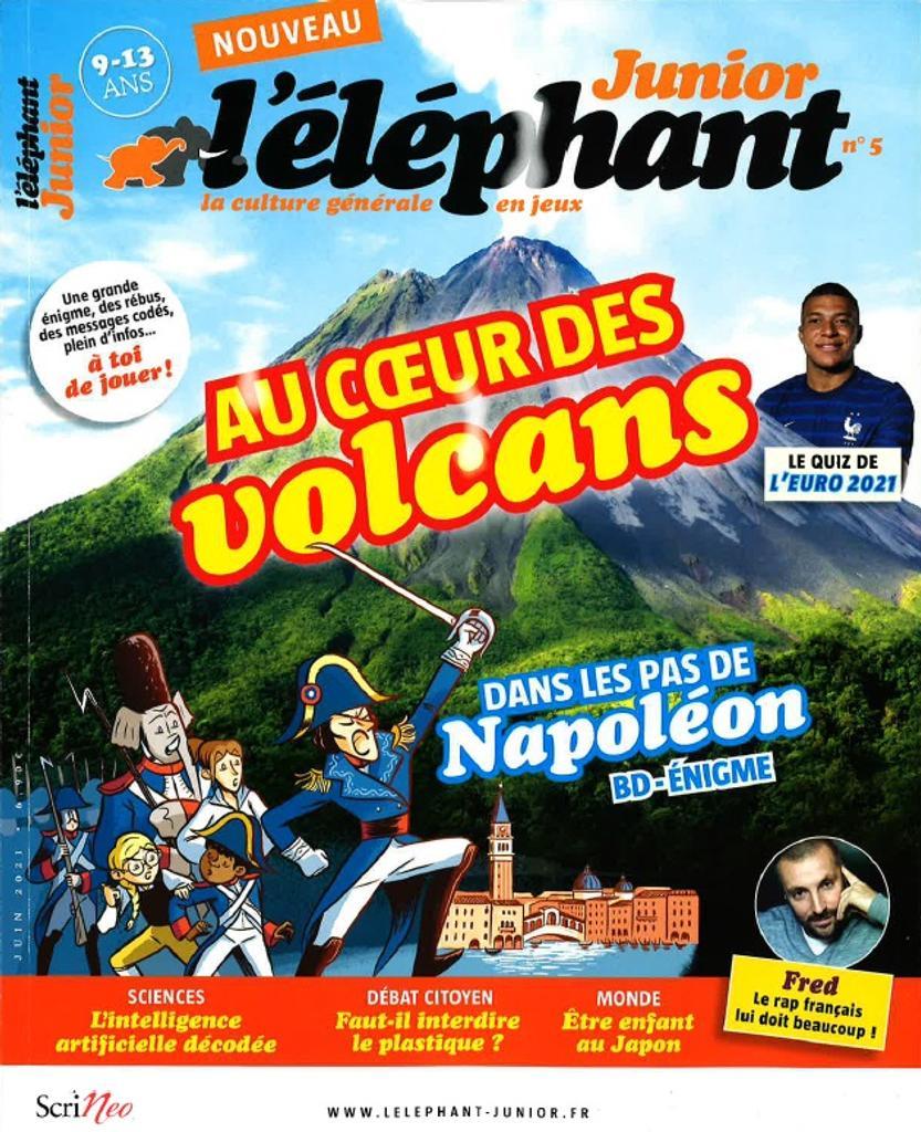 L'éléphant Junior : la culture générale en jeux. 5, Juin 2021 |