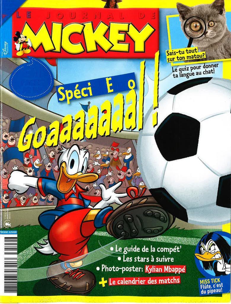 Le Journal de Mickey. 3599, Mercredi 9 Juin 2021 |
