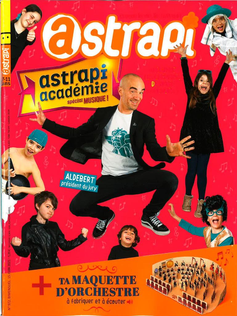 Astrapi : croque la vie, lis Astrapi !. 972, 15/06/2021 |