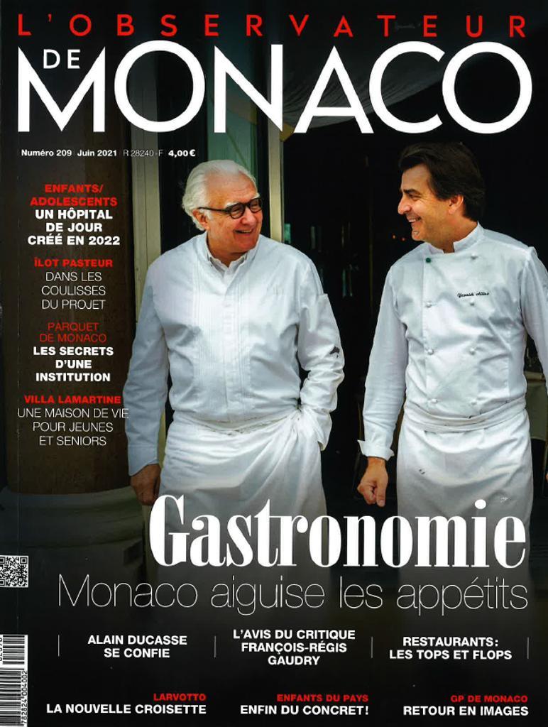 L' Observateur de Monaco. 209, Juin 2021 |