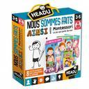 Nous sommes faits ainsi ! : Montessori le jeu qui parle de moi |