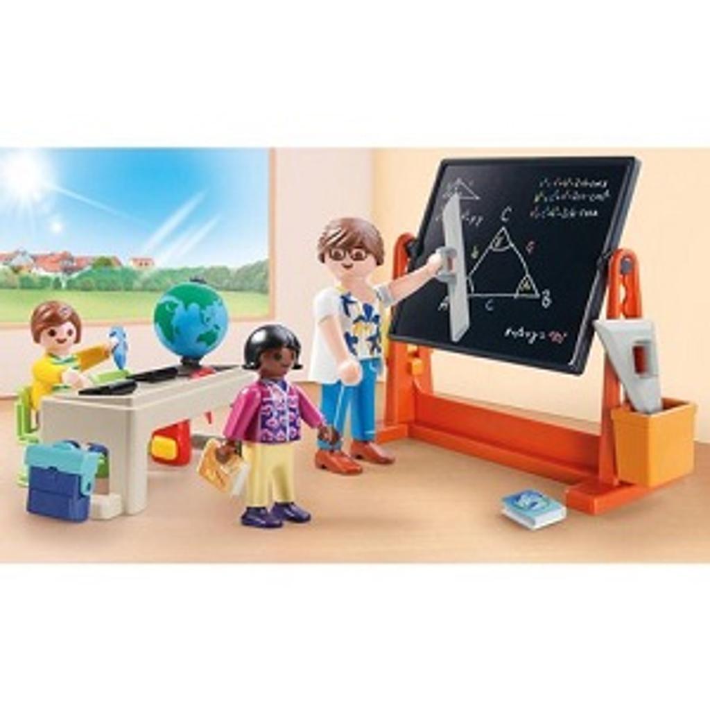 Playmobil City life : Valisette école |