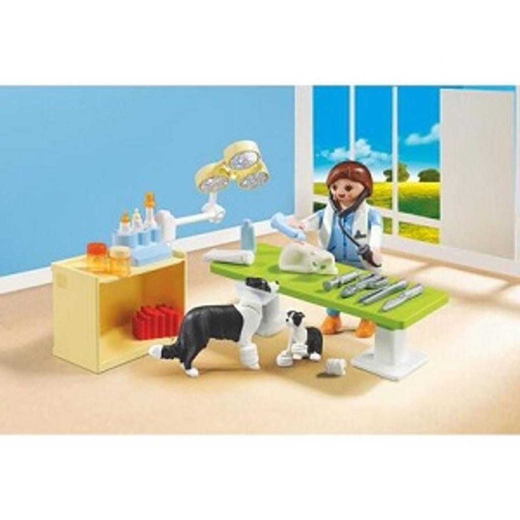 Playmobil City life : Valisette vétérinaire |