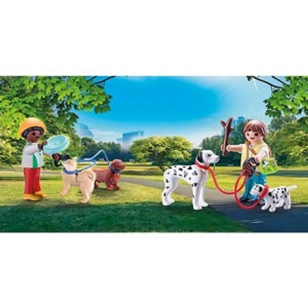 Playmobil City life : Enfants et chiens |