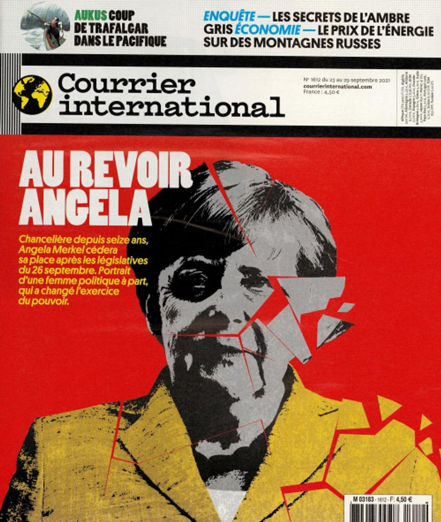 Courrier international. 1612, Jeudi 23 Septembre 2021  