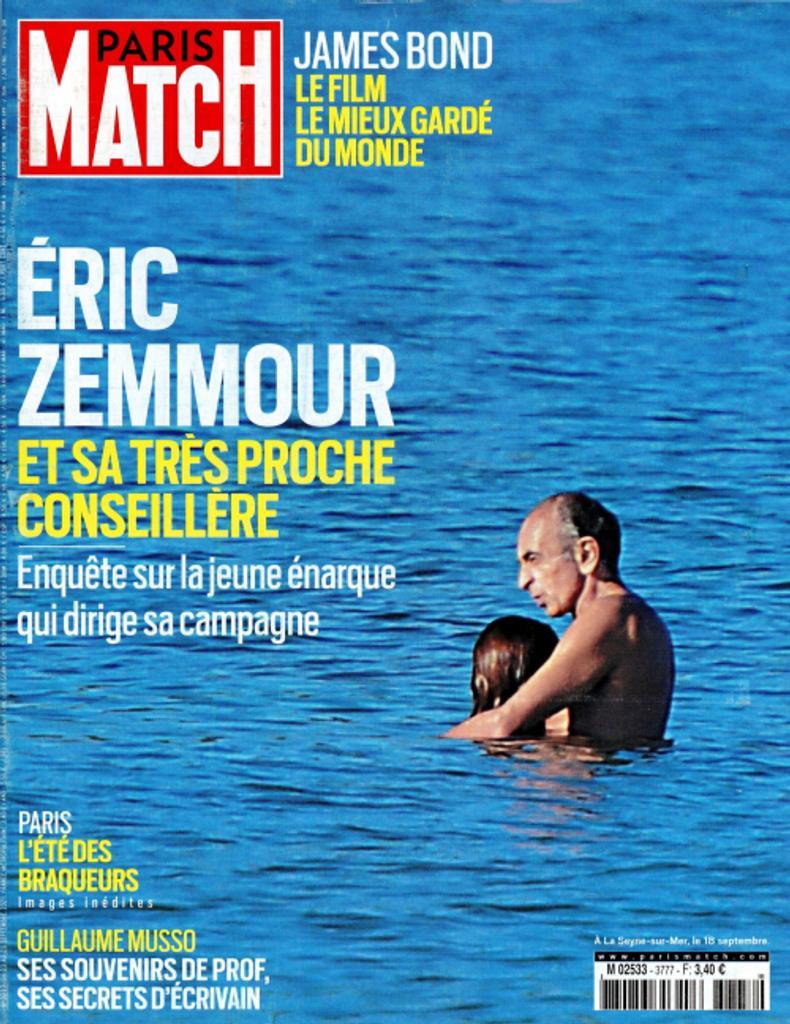Paris Match. 3777, Jeudi 23 Septembre 2021  
