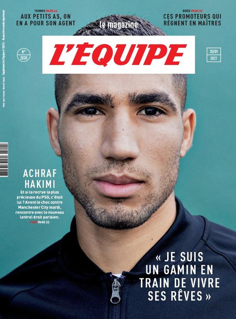 L'Équipe magazine. 2038, Samedi 25 Septembre 2021  