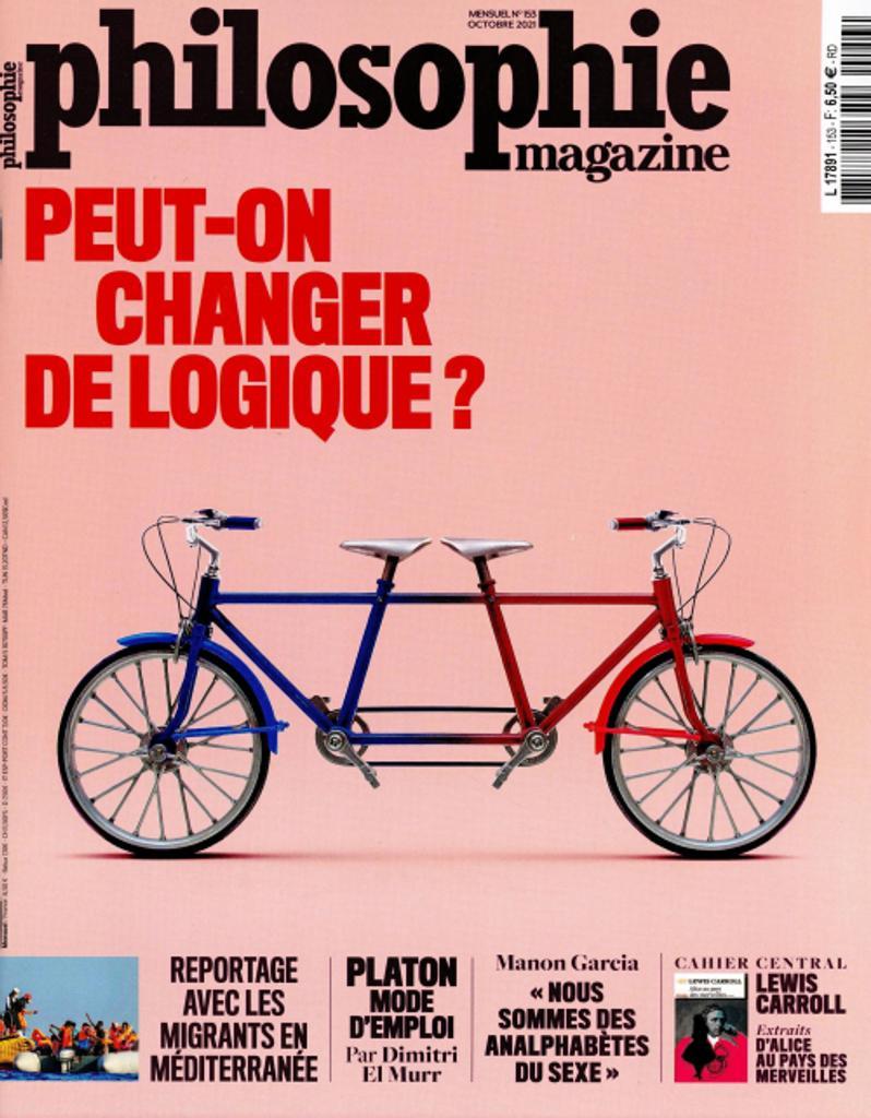 Philosophie magazine. 153, Octobre 2021  