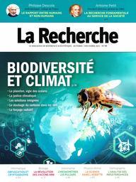 La Recherche : le magazine de référence scientifique. 567, Octobre-Décembre 2021 |