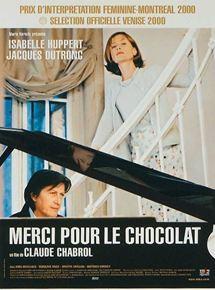 Merci pour le chocolat / mise en scène de Claude Chabrol   Chabrol, Claude (1930-2010). Monteur