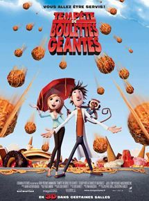 Tempête de boulettes géantes = Cloudy with a chance of meatballs / Phil Lord, Christopher Miller, réal., scénario | Lord, Phil. Auteur de l'animation