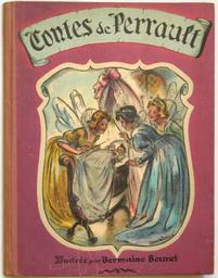 Contes de Perrault : illustré par Germaine Bouret / Germaine Bouret. [2] | Bouret, Germaine (1907-1953). Illustrateur