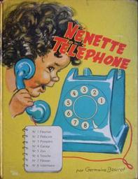 Nénette téléphone / texte et dessins de Germaine Bouret | Bouret, Germaine (1907-1953). Illustrateur